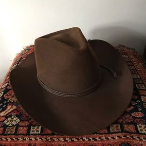 Resistol Chaparral Beaver Brown Cowboy Hat 7 1/4